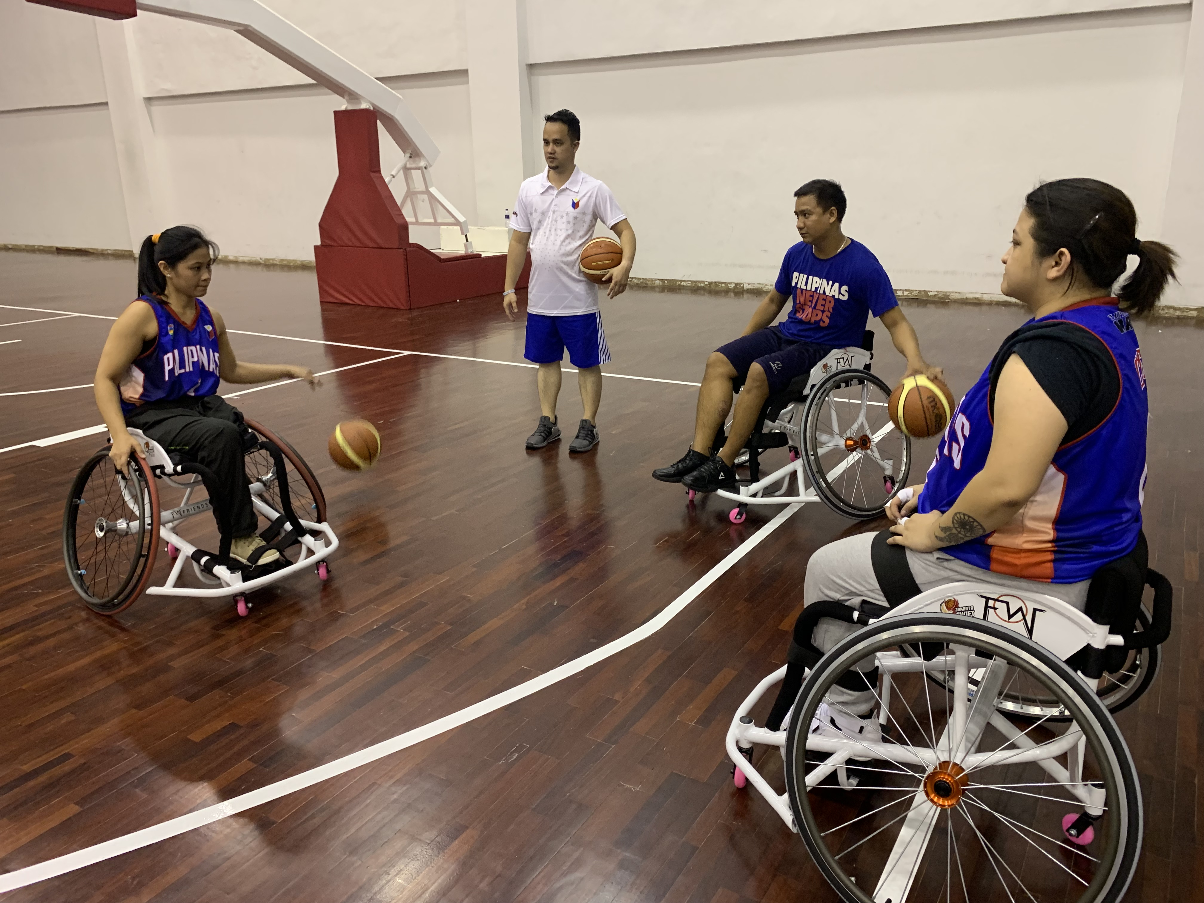 Success As Iwbf Asia Oceania Zone Stage Second Womens